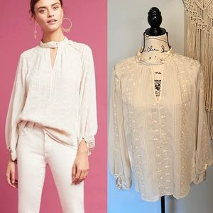 """Anthropologie """"Tiny"""" Victorian Blouse"""